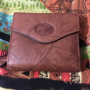 Buxton Trifold Wallet Brown NWT